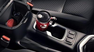 Tampilan Interior Cup Holder Nissan Navara 2018