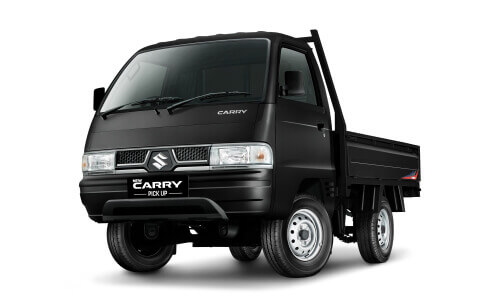 Black Suzuki Carry Pickup