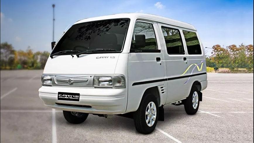 Tampak Depan Suzuki Carry Real Van 2019