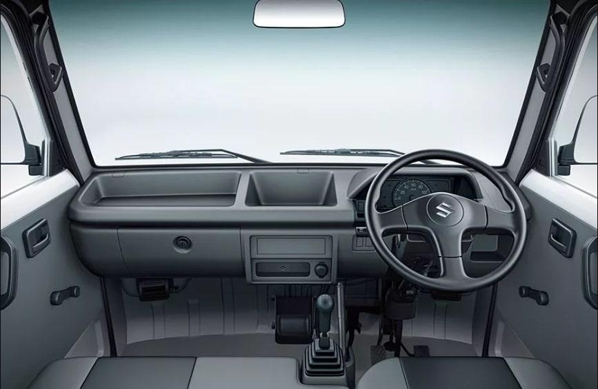 Interior Suzuki Carry Real Van 2019