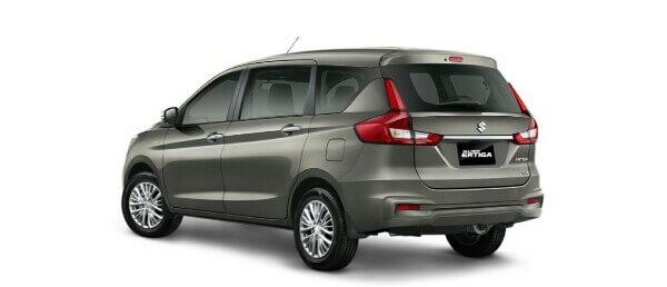 Tampilan Belakang Suzuki Ertiga Baru di Indonesia