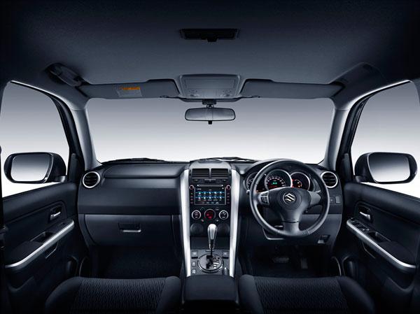 Tampilan Dashboard Suzuki Grand Vitara Baru