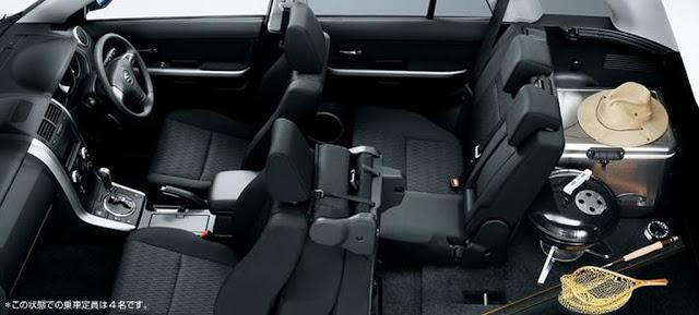 Tampilan Interior Suzuki Grand Vitara Baru