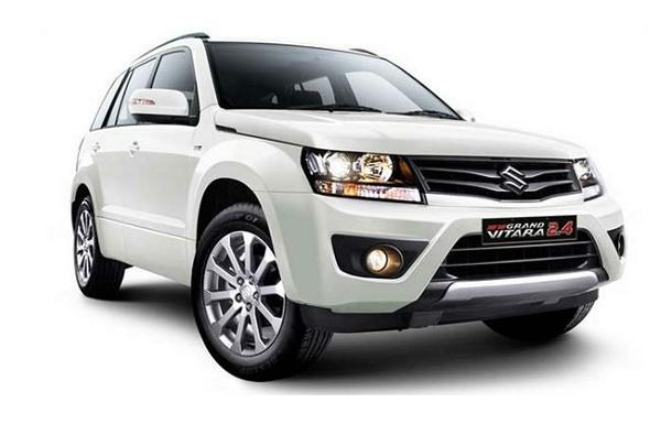 Suzuki Grand Vitara Baru Warna Putih