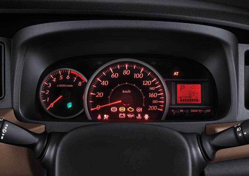 Tampilan Instrumen Cluster Toyota Calya