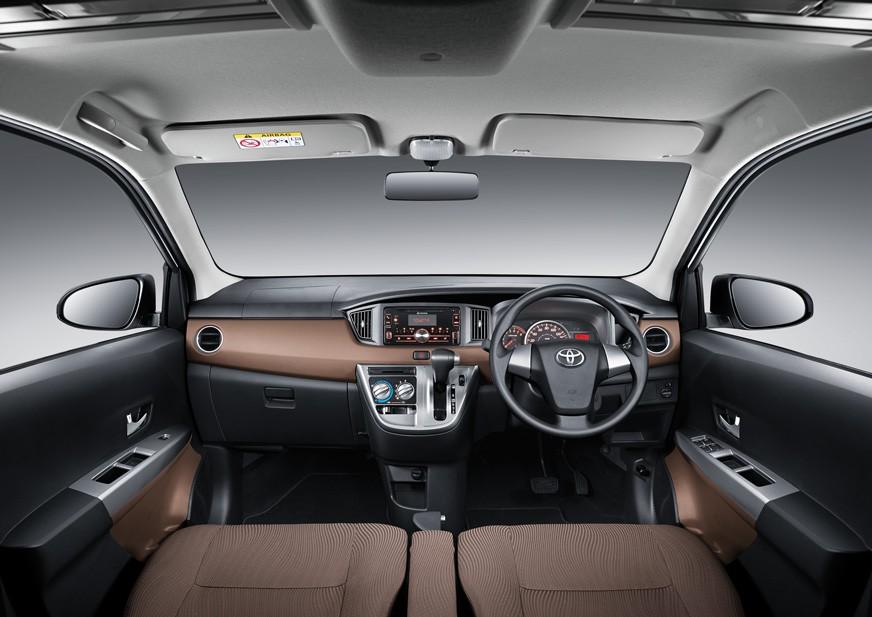 Tampilan Dashboard Toyota Calya