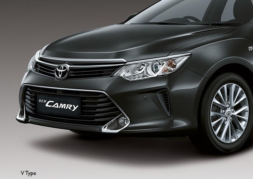 Tampilan Eksterior Toyota Camry Baru dijual di Carmudi Indonesia