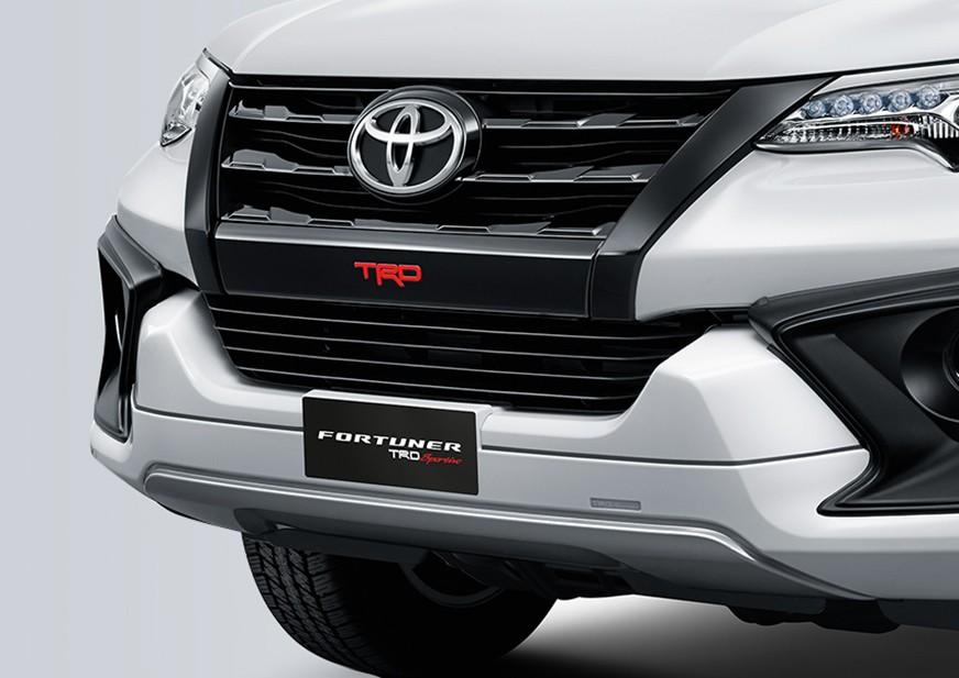 Bagian Wajah Depan Toyota Fortuner