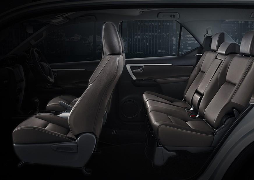 Bagian Interior Jok Toyota Fortuner