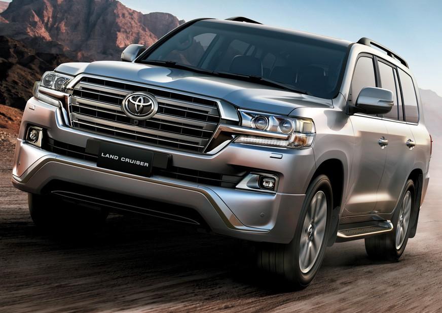 Tampilan Eksterior Toyota Land Cruiser