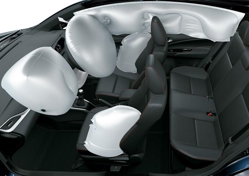 Tampilan Safety airbags Toyota Vios Baru dijual di Carmudi Indonesia